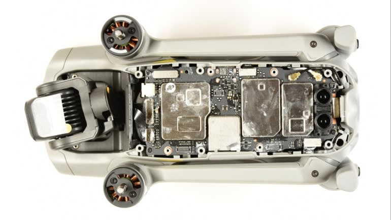 Teardown of DJI drone reveals secrets of its competitive pricing